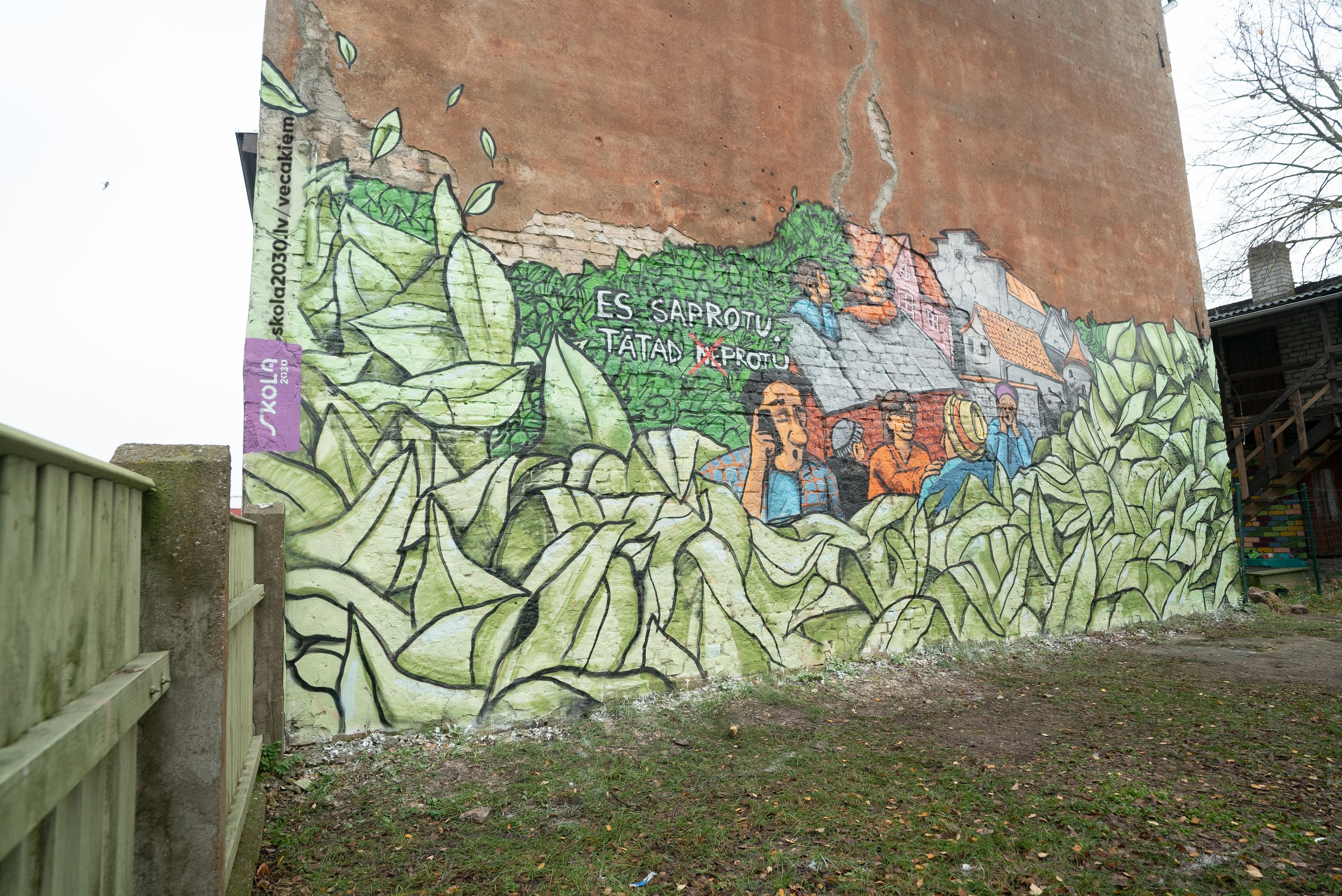 Zīmējumu aicinām apskatīt Liepājā, Matrožu ielā 5!